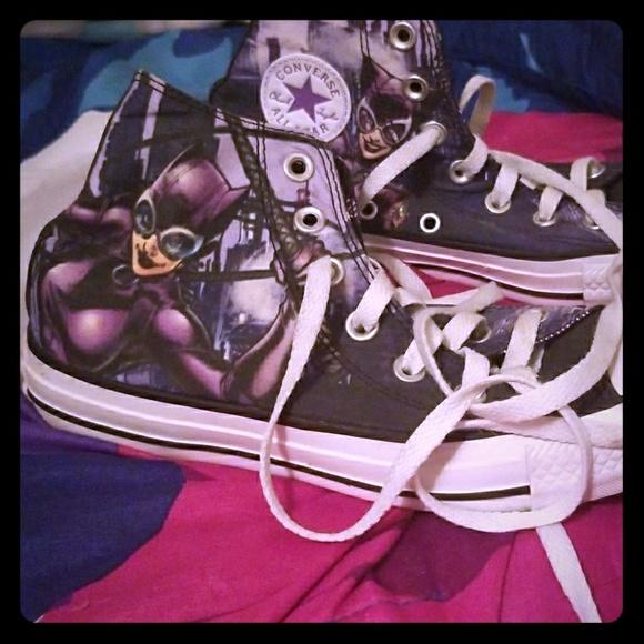 Converse Shoes - Catwomen Converse